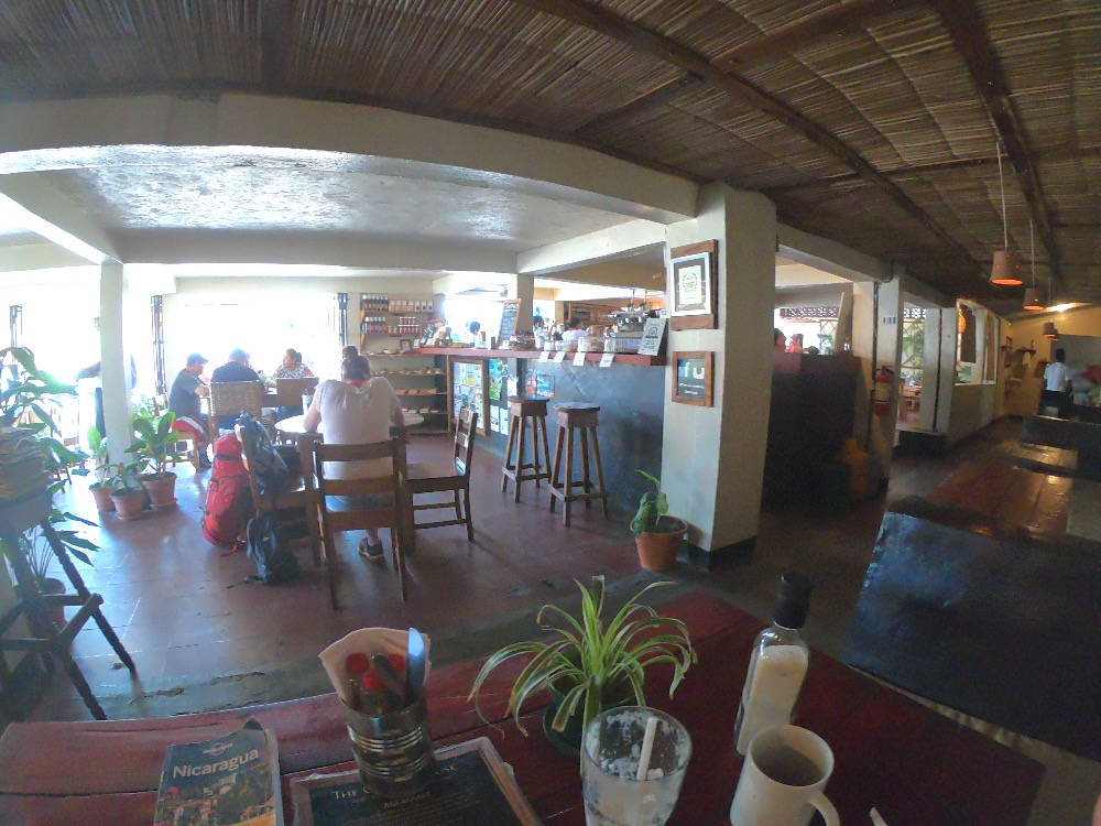 Cornerhouse cafe Ometepe