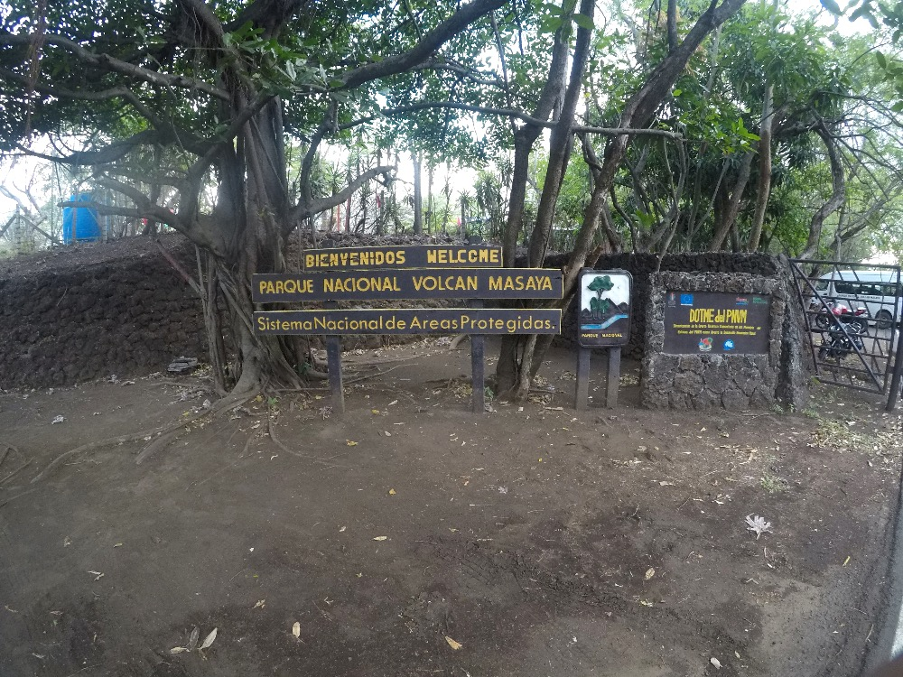 Masaya Volcano National Park entrance