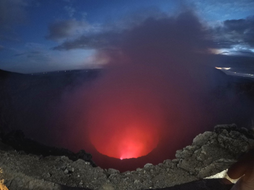 Masaya Volcano 15 minutes of red hot fame