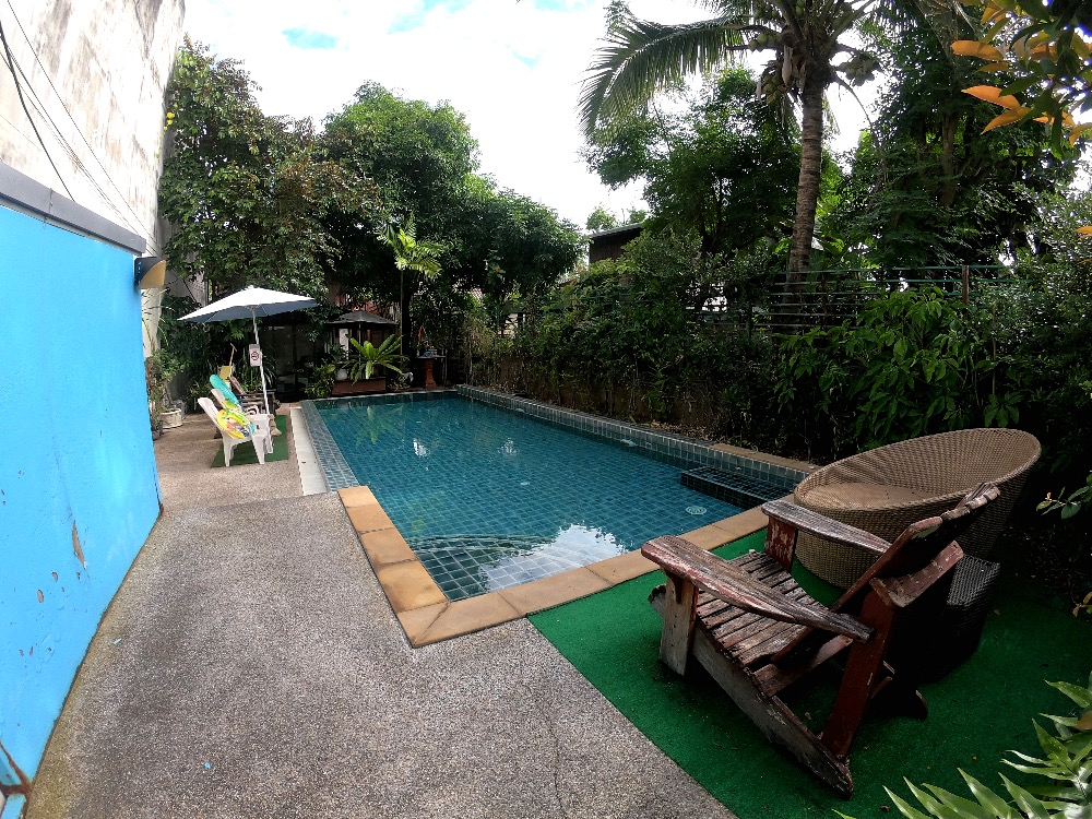 Mandala House pool