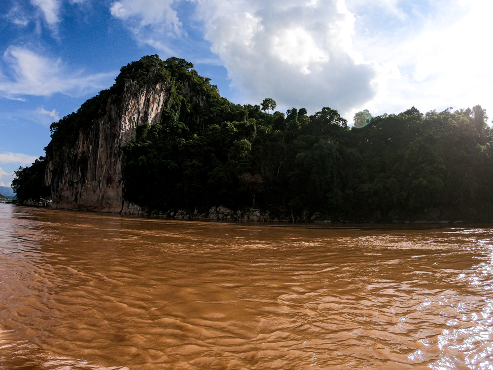 Cliff Mekong River