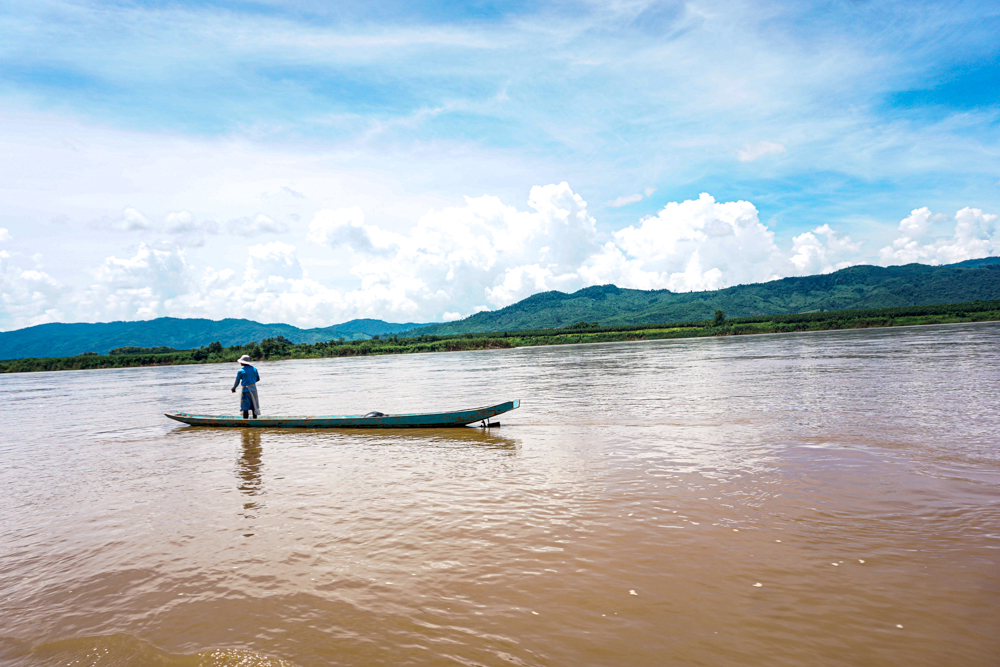 Mekong River fishing